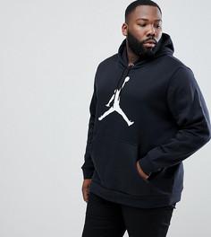 Худи из флиса черного цвета Nike Jordan PLUS AH4507-010 - Черный