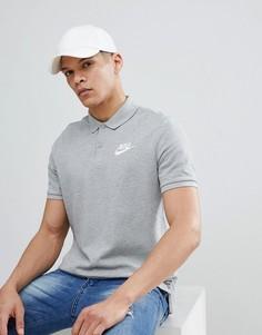 Серая футболка-поло Nike Matchup 909746-063 - Серый
