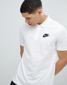 Белая футболка-поло Nike Matchup 909746-100 - Белый