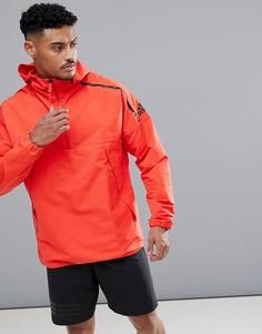 Красная куртка с капюшоном adidas ZNE CF0645 - Красный