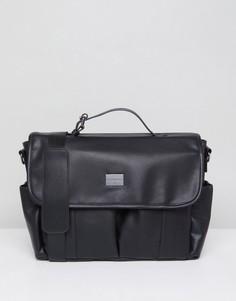 Сумка через плечо в винтажном стиле Peter Werth - Черный