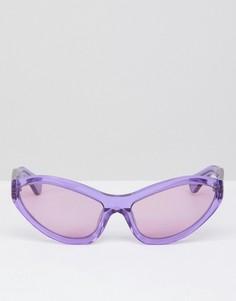 Солнцезащитные очки кошачий глаз House Of Holland - Фиолетовый