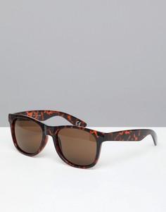 Коричневые солнцезащитные очки Vans Spicoli 4 VLC01RE - Коричневый