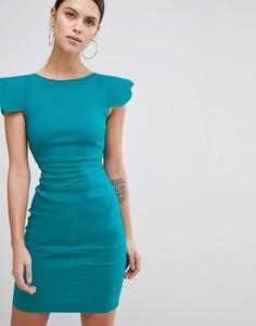 Платье-футляр Vesper - Синий