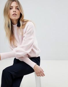 Свитшот с манжетами Y.A.S - Розовый