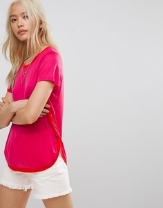 Футболка Maison Scotch Core - Розовый