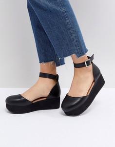 Туфли на платформе ASOS TABBI - Черный