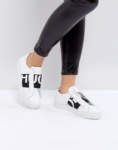 Кроссовки с логотипом HUGO - Белый
