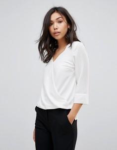 Блузка с запахом Vero Moda - Белый