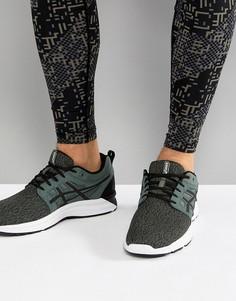 Зеленые кроссовки Asics Running Gel Torrance T7J3N-8290 - Зеленый