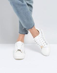 Кроссовки со шнуровкой Miss KG Kelsie - Белый