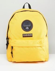 Желтый рюкзак с логотипом Napapijri Voyage - Желтый