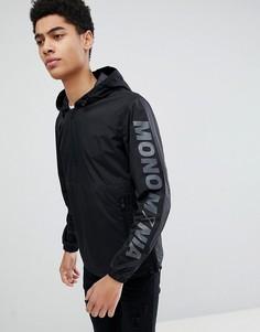 Куртка с названием бренда на рукаве Jack & Jones Core - Черный