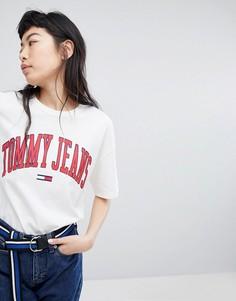 Футболка с логотипом Tommy Jeans - Белый