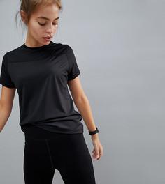 Свободная футболка ASOS 4505 PETITE - Черный