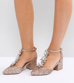Туфли для широкой стопы на каблуке с декоративной отделкой ASOS DESIGN Wizard - Мульти