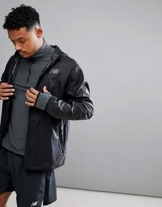 Черная куртка New Balance MJ71042_BK - Черный