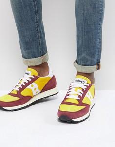 Желтые кроссовки Saucony Jazz Original S70368-16 - Желтый