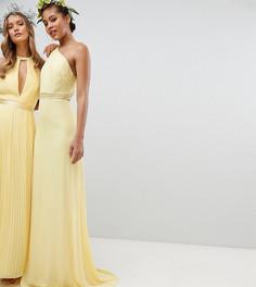 Платье макси TFNC Tall - Желтый
