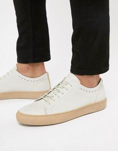 Белые кожаные кроссовки Ted Baker Uurll - Белый