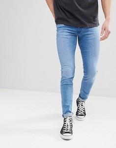 Выбеленные джинсы скинни Celio - Синий
