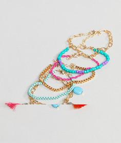 Набор синих браслетов South Beach - Мульти