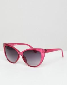 Солнцезащитные очки кошачий глаз AJ Morgan - Розовый