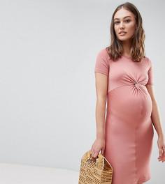 Облегающее платье New Look Maternity - Красный