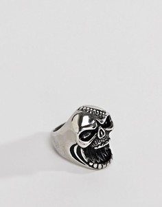 Серебристое кольцо Seven London - Серебряный
