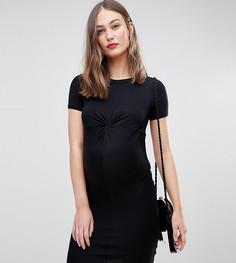 Облегающее платье New Look Maternity - Черный
