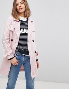 Тренч Esprit - Розовый