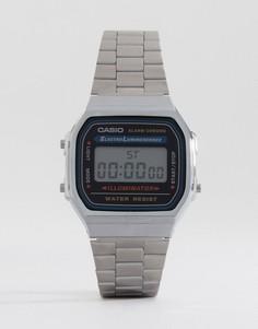 Электронные часы-браслет Casio A168WA-1YES - Серебряный