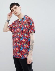 Рубашка с короткими рукавами Night Addict - Красный