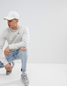 Серый флисовый свитшот Nike Club 804340-072 - Серый