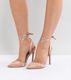 Туфли для широкой стопы на высоком каблуке ASOS PIED PIPER - Бежевый