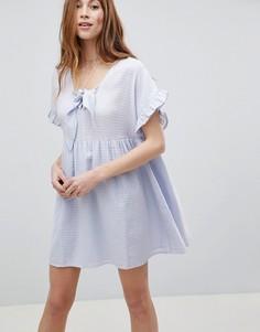 Свободное платье мини ASOS - Синий