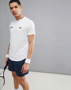 Белая теннисная футболка с рукавами реглан ellesse - Белый