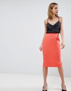 Комбинируемая юбка-карандаш ASOS DESIGN - Розовый