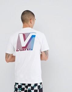 Белая футболка с принтом на спине Vans Grand VA3H6NWHT - Белый