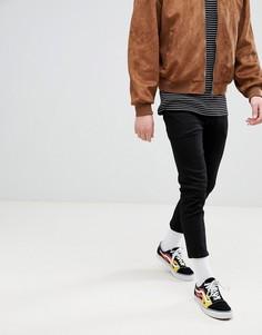 Черные укороченные джинсы скинни ASOS DESIGN - Черный