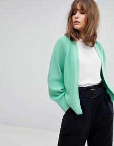 Мягкий кардиган ASOS DESIGN - Зеленый