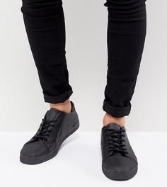 Черные кроссовки на шнуровке для широкой стопы ASOS - Черный