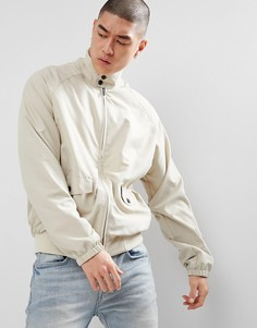 Светло-бежевая oversize-куртка Харрингтон ASOS - Светло-бежевый