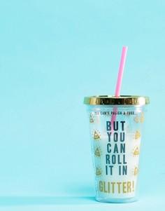 Чашка с соломкой Fizz - Мульти