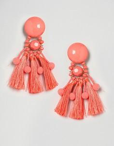 Серьги ASOS - Оранжевый