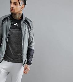 Серая беговая куртка FIRST - Серый