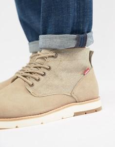Светло-бежевые ботинки чукка Levis Jax - Бежевый Levis®