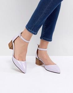Туфли на каблуке с острым носком ASOS TAIYA - Фиолетовый