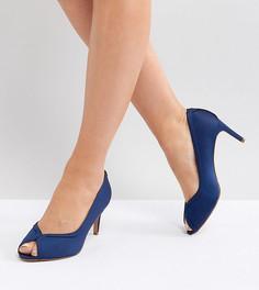 Туфли на каблуке для широкой стопы ASOS SUMMER - Темно-синий