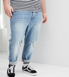 Суженные книзу джинсы ASOS DESIGN Plus - Синий